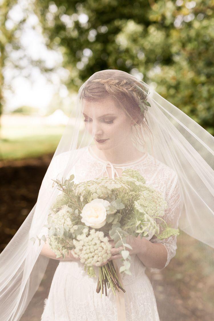 Organic rustic greenery wedding ideas bridal veils pinterest
