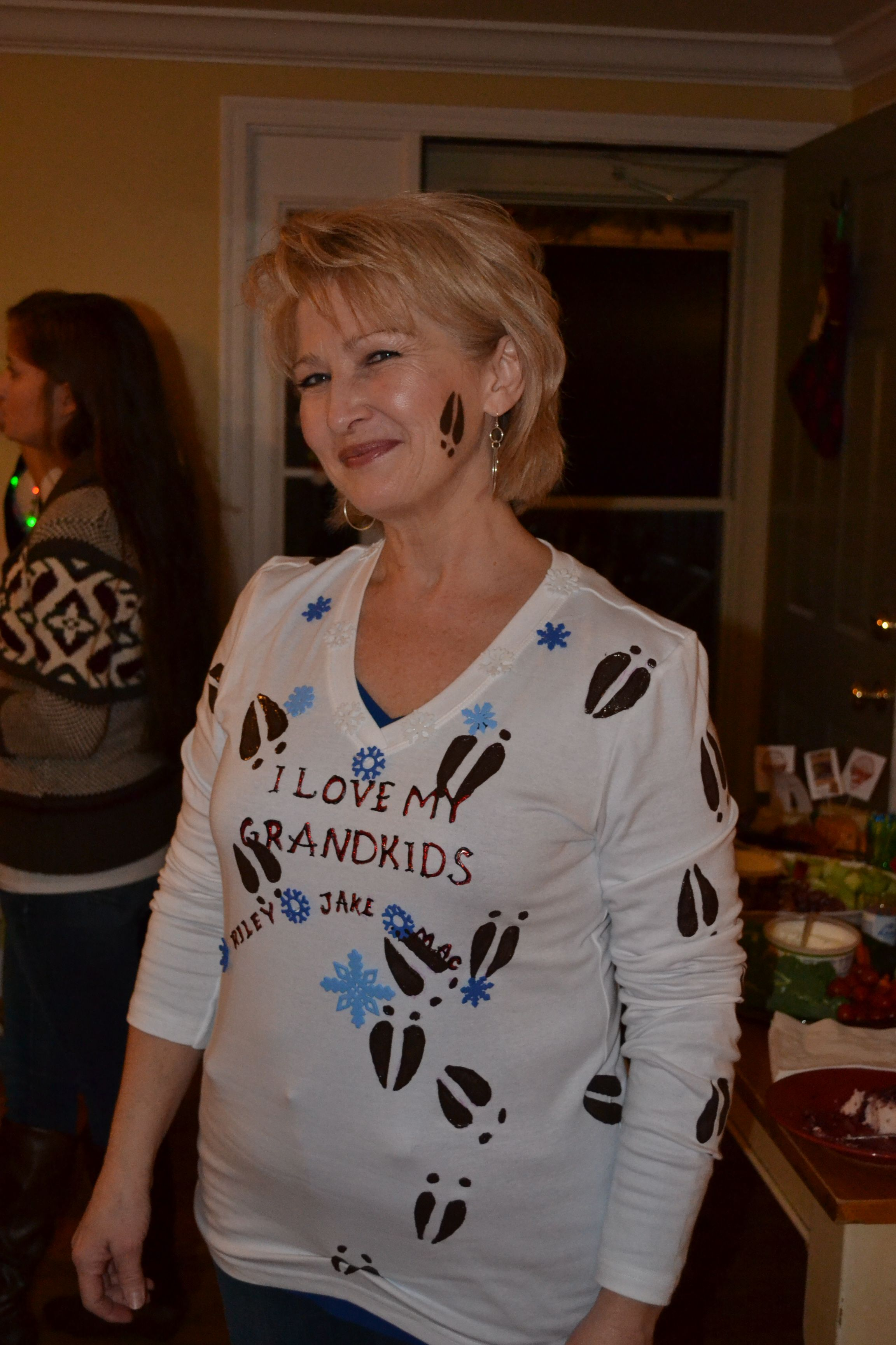 Grandma got run over by a reindeer Tacky Sweater or Ugly sweater