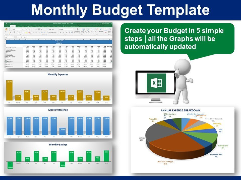 Monthly Budget Template  Monthly Budget Template Monthly Budget