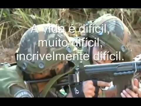 Motivação Militar Exército Brasileiro Infantaria Acima