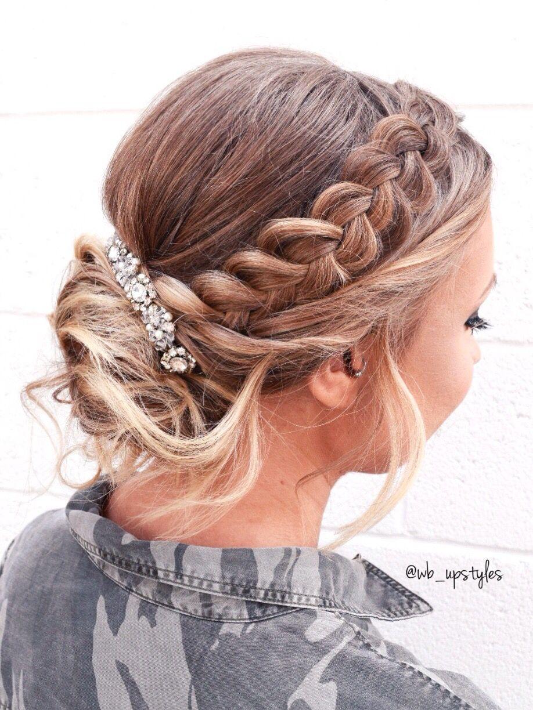 Gorgeous Wedding Hairstyle Diy Hair Updos Hair Braid Videos Hair Styles