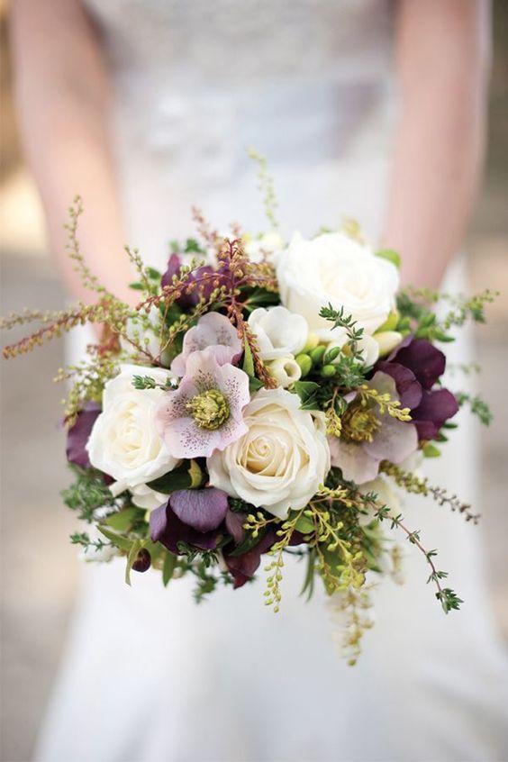 10 bouquets de mari e pens s avec des fleurs d 39 automne for Bouquet de fleurs khotba