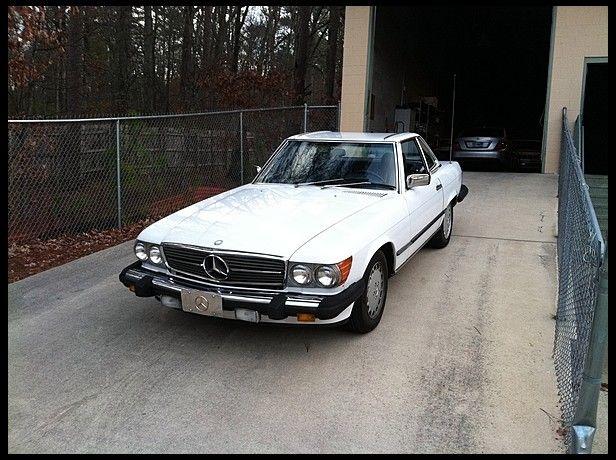 1987 mercedes benz 560sl convertible for sale by mecum auction rh pinterest com