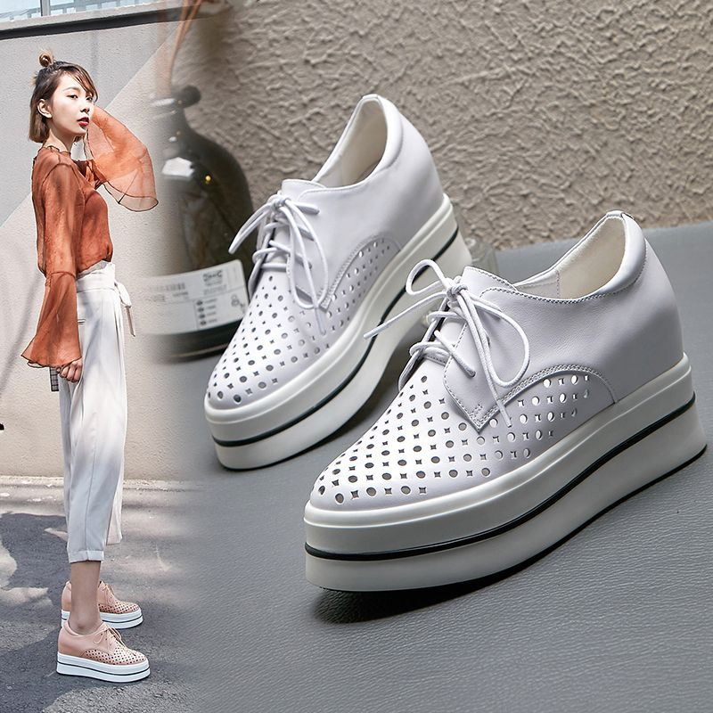 Stand tall in summer trendy flatform