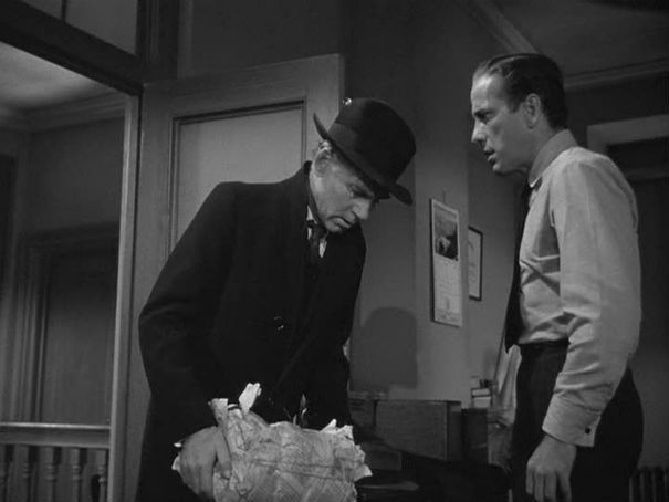 walter huston and humphrey bogart--maltese falcon 1941 | John huston,  Humphrey bogart, Jack warner