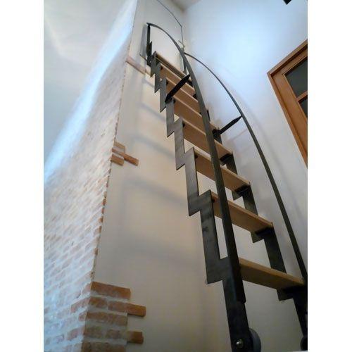 201 Chelle Bois En M 233 Tal Escamotable Escalier