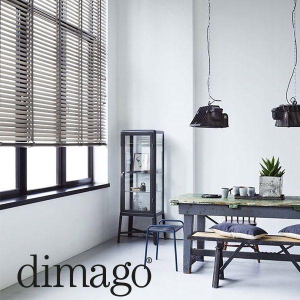 dimago® houten horizontale jaloezieën in 10 nieuwe kleuren: wit ...