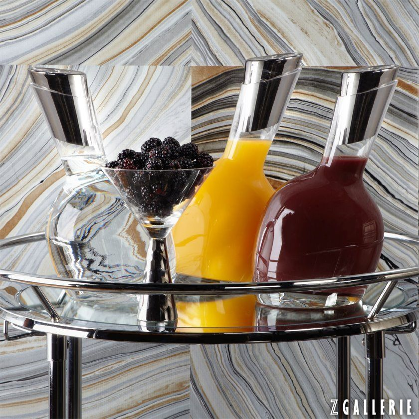 Decanters are fashionable as well as functional. These