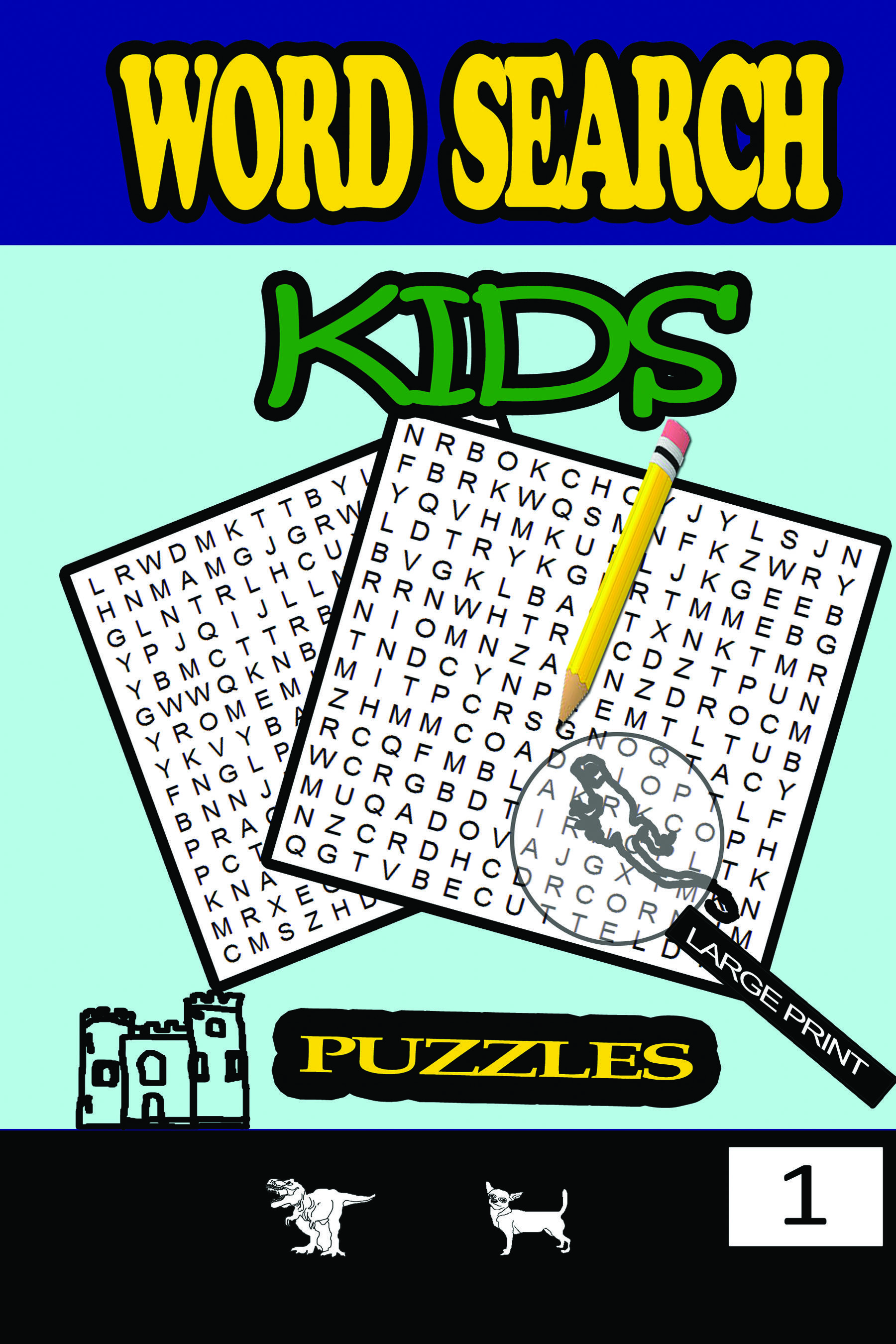 Fun And Challenging Word Search Puzzles For Kids