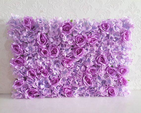 Flower Wall Backdrops Silk Hydrangea Roses Peony Wedding Etsy Silk Hydrangeas Wall Backdrops Flower Wall