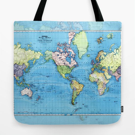 World map tote bag colorful historic travel theme tote everything bag world map tote bag colorful historic travel gumiabroncs Images