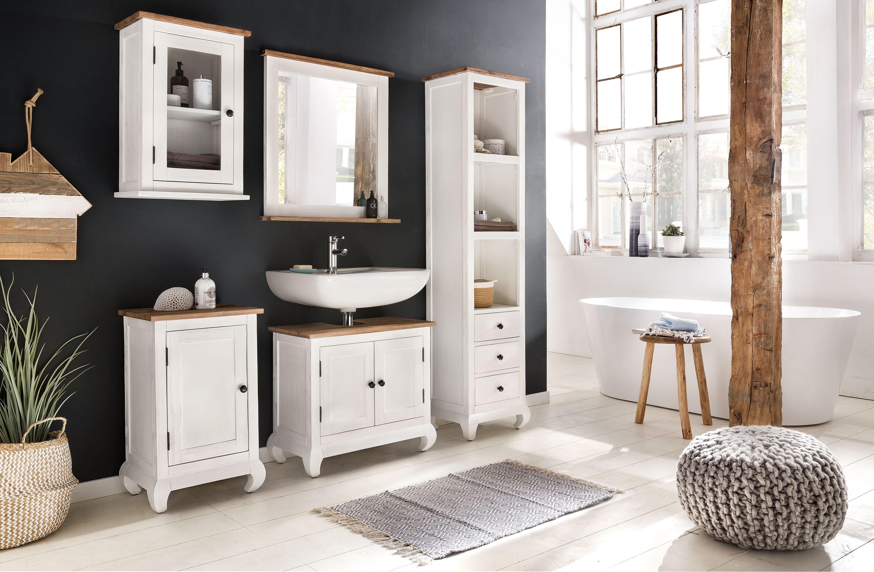 Das Badezimmer Set Kimbell verbreitet Landhaus Charme in ...