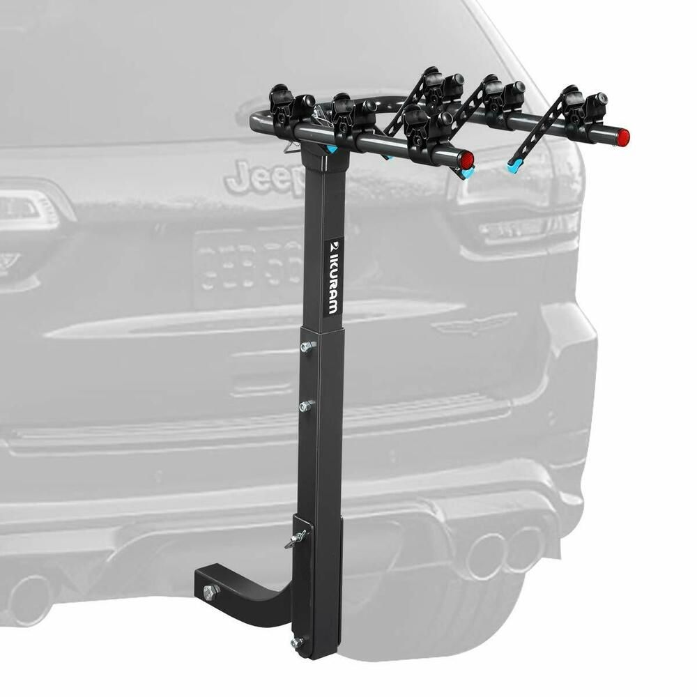 3 Bike Rack Bicycle Carrier Car Truck Hitch Mount Double Foldable