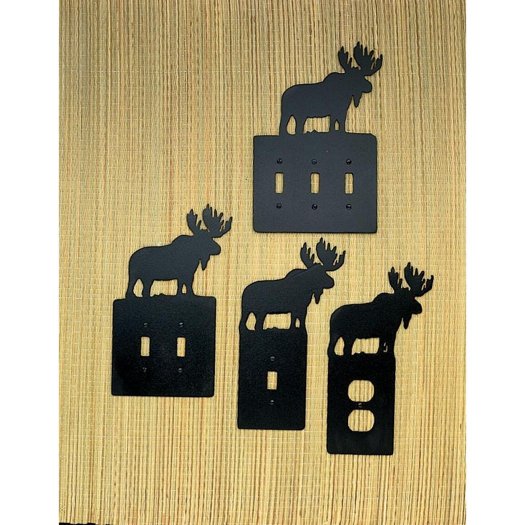 Moose Single Switch Plate - Custom Made | Products | Pinterest ...