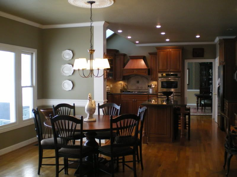 Edgewood green the perfect wall color for the home for Perfect kitchen colours