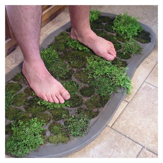 Diy Moss Make A Shower Mat
