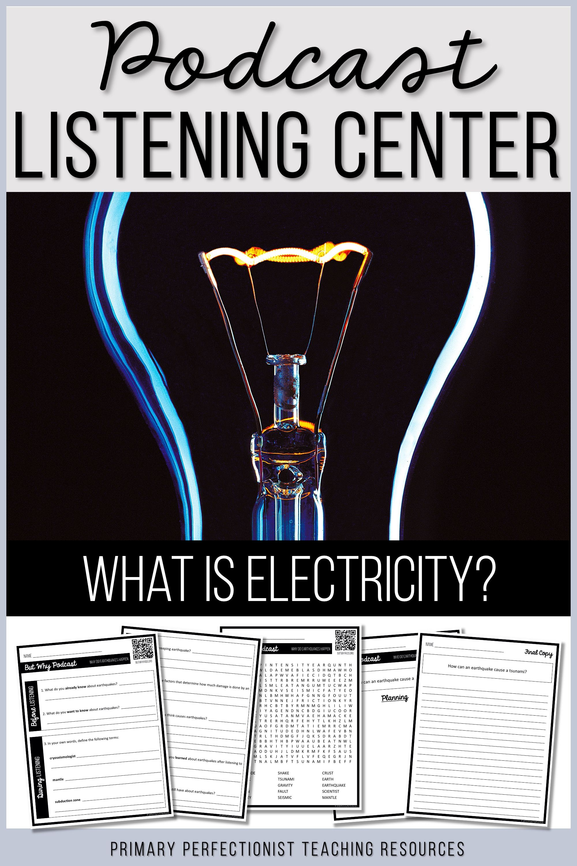 Podcast Listening Comprehension Activities