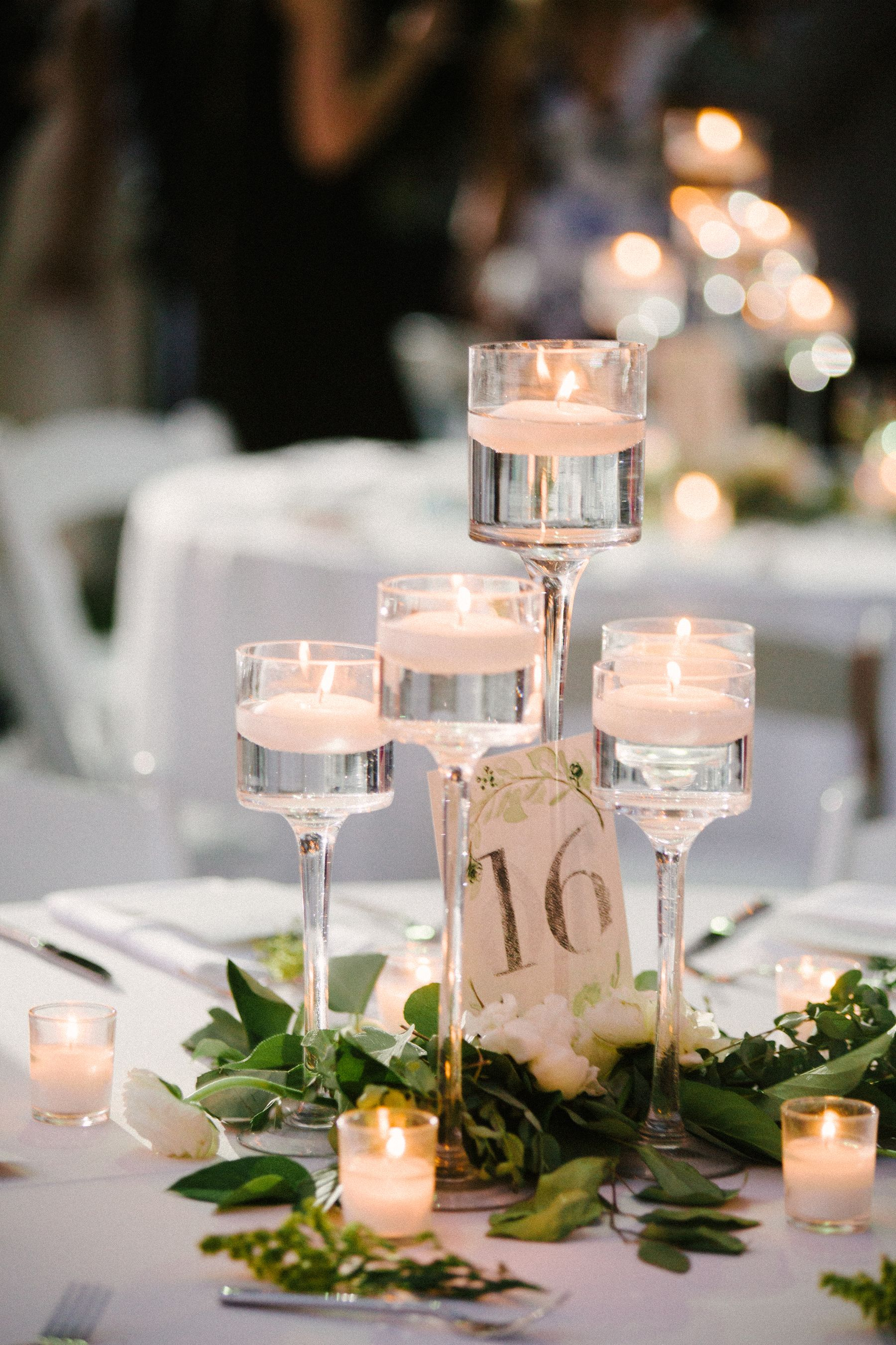 Elegant Floating Candle Centerpieces Candle Wedding Centerpieces