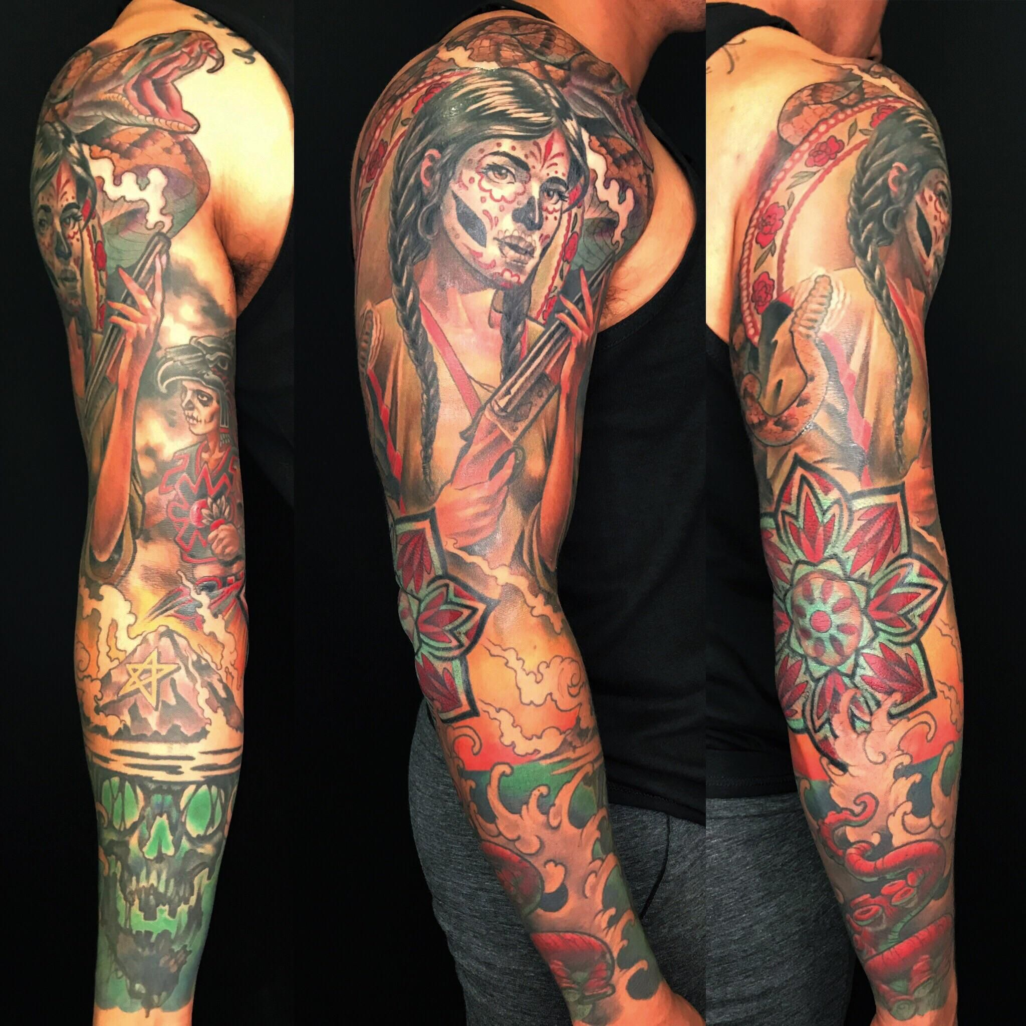 0ea13998c3b7b Sweet tattoo by Nathaniel Gann at remington tattoo in Sunny San Diego