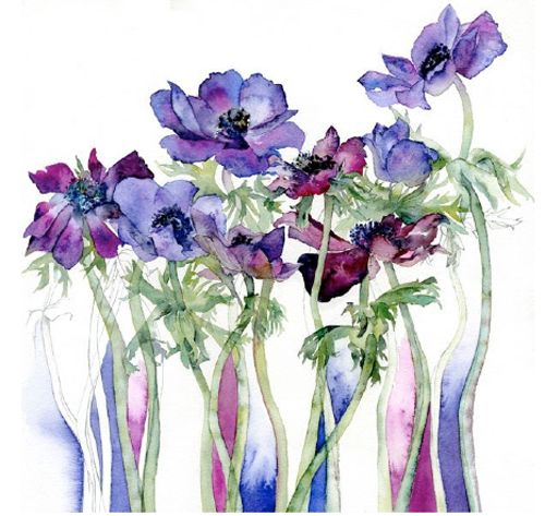 vivienne cawson Aquarelle #watercolor
