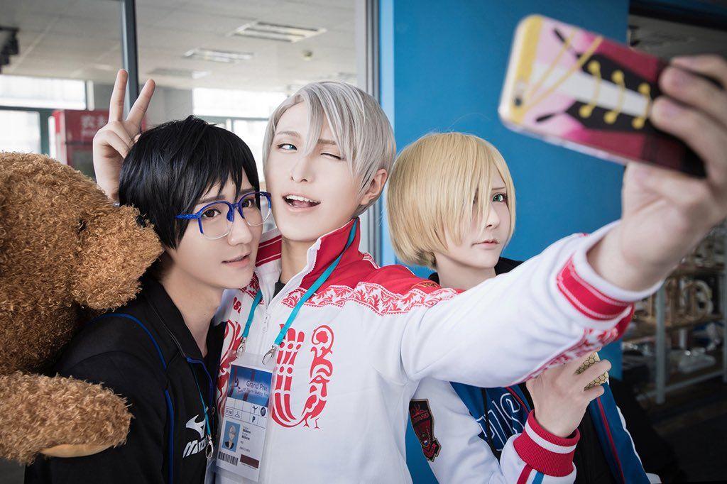 Baozi&Hana, Ichinose Hikaru cosplay Yuri on Ice (@BaoziHana)   Twitter