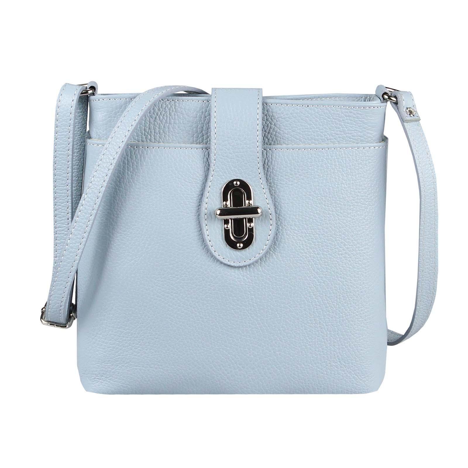 Schultertasche Damentaschen Tasche Damen Crossover Leder 1KcJlF