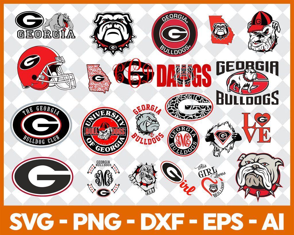 Georgia Bulldogs Georgia Bulldogs Svg Georgia Bulldogs Clipart