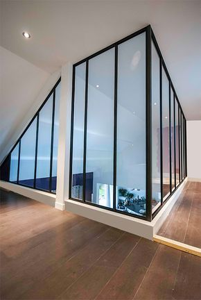Verrière métallique sur mezzanine - | Deco life style | Pinterest ...