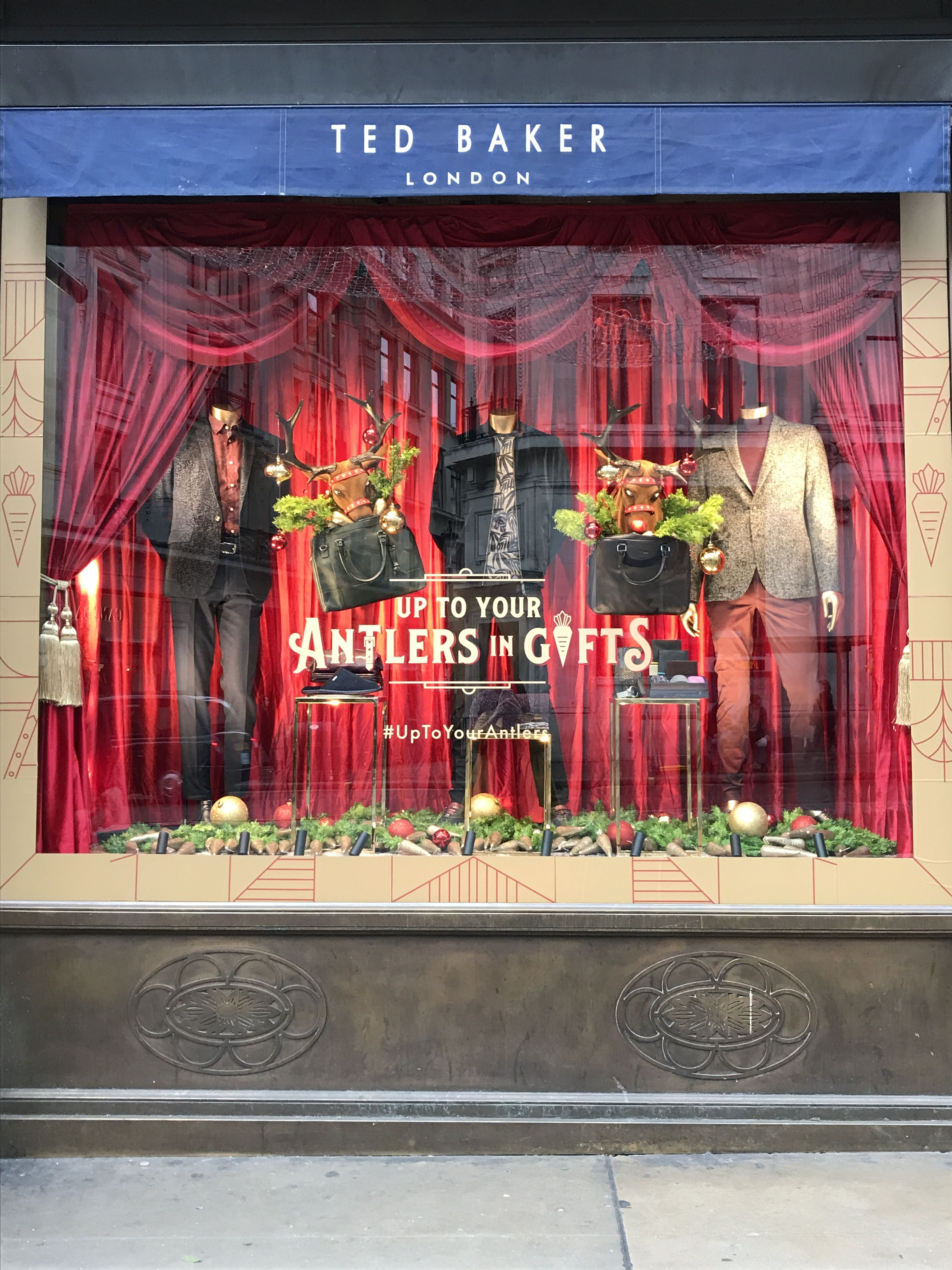 Ted Baker - Regent Street - Christmas '17 (With images ...