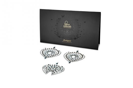 Flamboyant body jewelery by Bijoux Indiscrets adorns and enhances what is already beautiful about you by adding a little bling below the bel...
