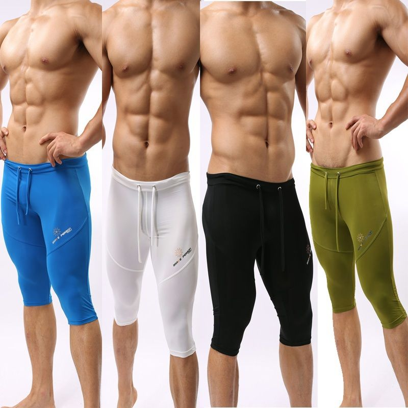 67a3a99944 New 2014 Brave Person Men's Compression Under Base Layer Shorts Tight  Stretch Sports Leggings Swimming Cycling Short Pant R99 US $18.25