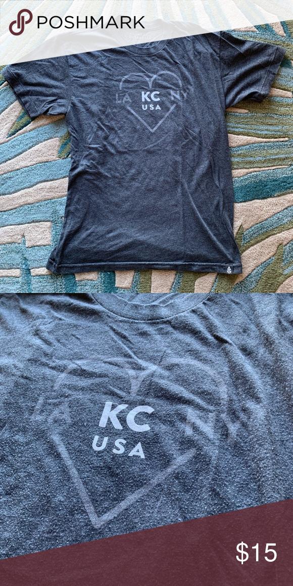47d6bbc5 Ocean & Sea Grey Tee Shirt Cute super soft grey tee shirt made/designed by