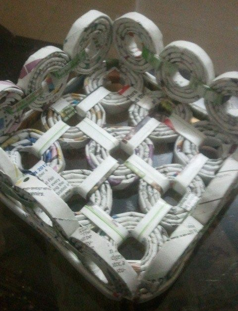 Paper Basket Wine Bottles Pinterest Paper Paper Basket And
