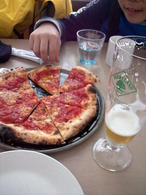 Pizza (in Ski Resort Yuzawa Niigata, Japan)