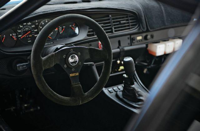 1987 porsche 944 turbo sparco 353 suede steering wheel 05