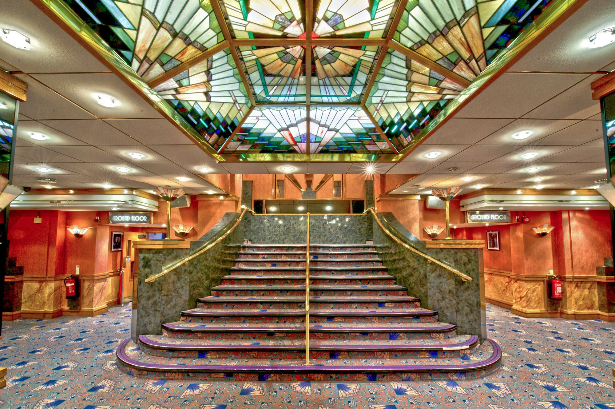 entrance foyer, the troxy, london (e1) | want to go here