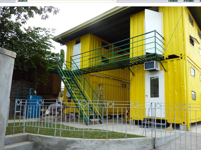 Shipping container homes citihub mandaluyong shipping container dormitory in the philippines - Container van homes ...