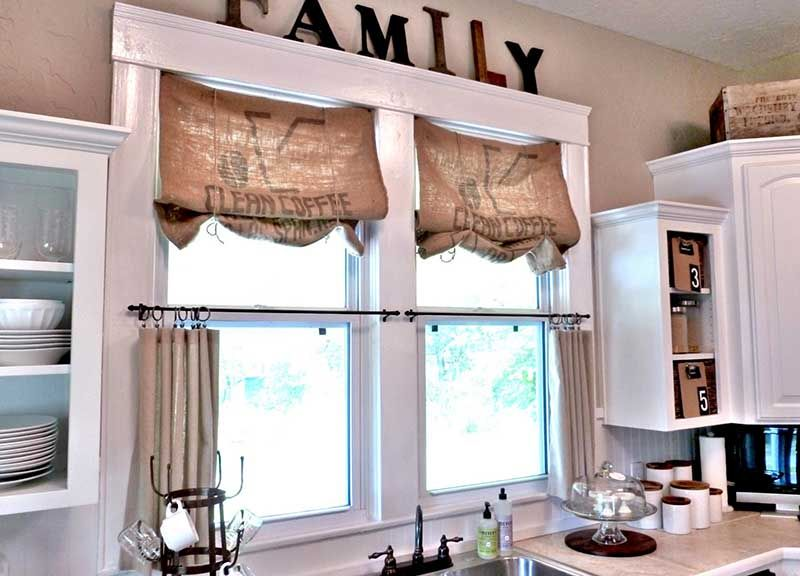 Kitchen Window Treatment Ideas (2013) To Brisk Your Kitchen