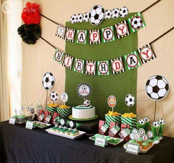 Soccer Birthday Party Package Personalized MINI By Venspaperie