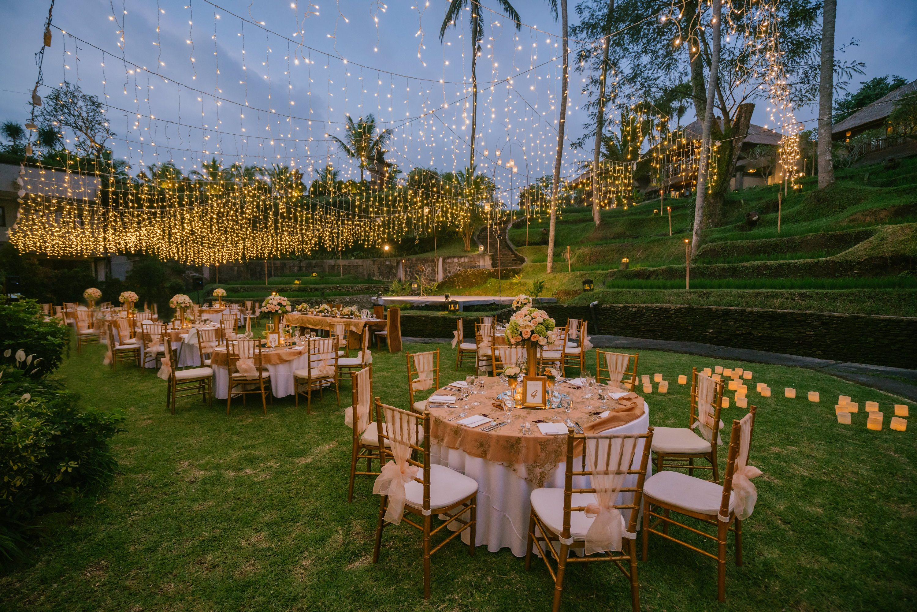 Special Wedding Dinner At Kamandalu Ubud