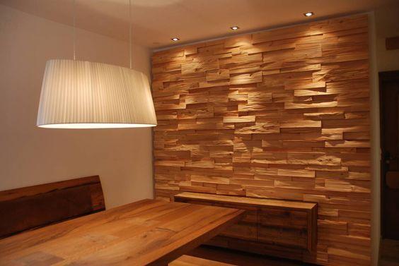 Tischlerei Moebel Scheiber GmbH & CoKG: Spaltholzwand: