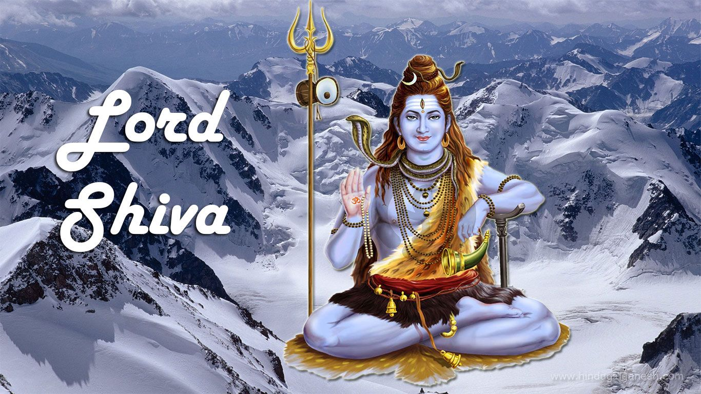 Free Download Lord Shiva Hd Wallpapers 1366x768 From Our God Shiva