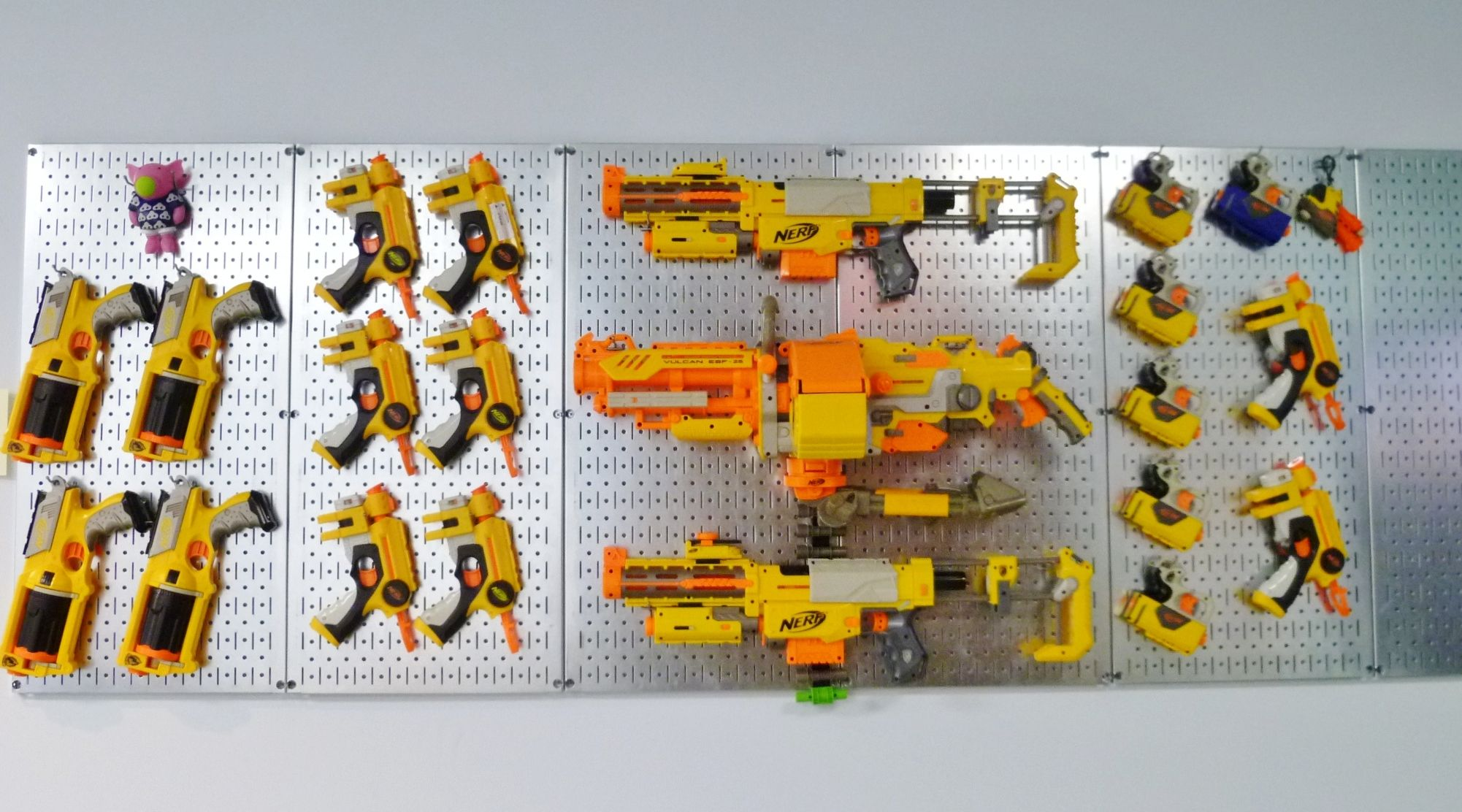 Nerf Gun Storage Rack Organize It All Pinterest Nerf