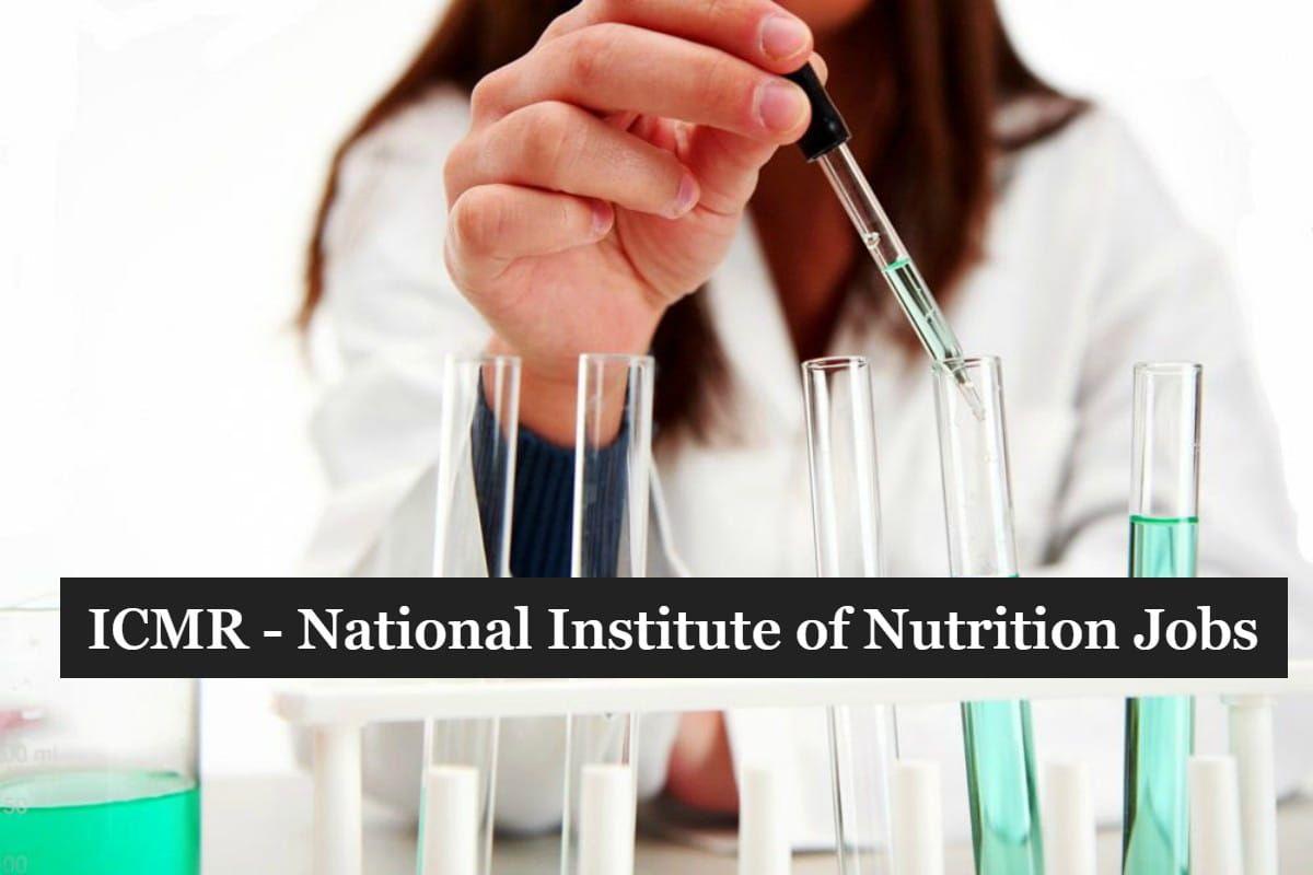ICMRNIN Research Jobs 2019 MSc & PhD Biochemistry