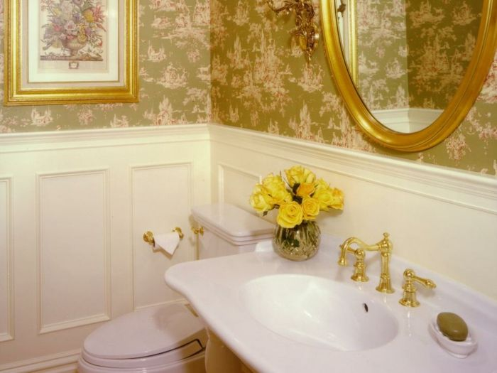 Como decorar un baño pequeño y sencillo económicamente. | Baño ...