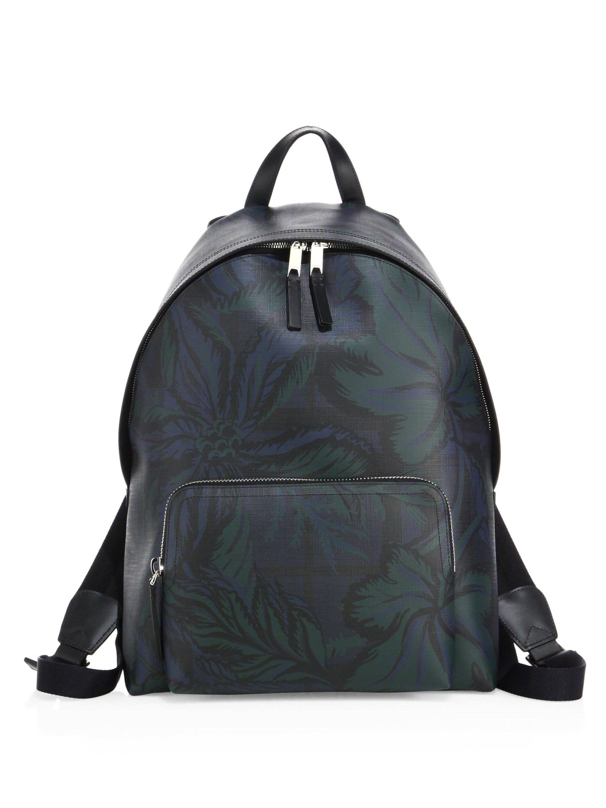 51d10288025d BURBERRY Abbeydale Floral Printed Backpack.  burberry  bags  leather  pvc   backpacks