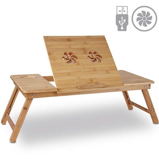 laptoptisch f rs bett mit usb l fter jago24 mesas para la cama pinterest tray y ecommerce. Black Bedroom Furniture Sets. Home Design Ideas
