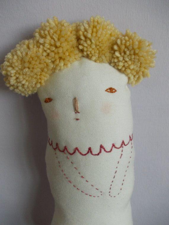 Primrose Art doll Home decor ooak by maidolls on Etsy