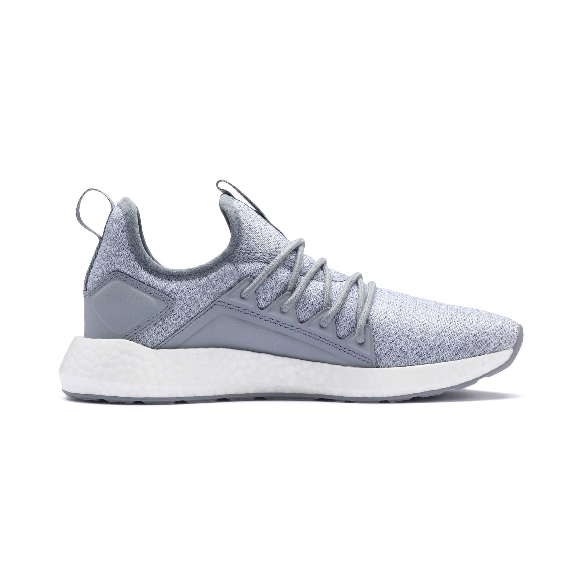 PUMA NRGY Neko Knit Women's Running Shoes in Quarry Grey