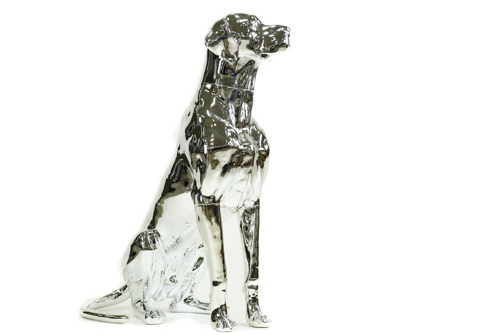 Great Dane Dog Mannequin Chrome Dane Dog Great Dane Dogs Used